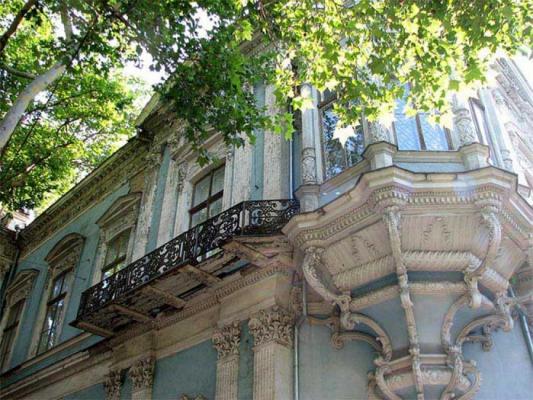 Детали разноликой архитектуры Одессы