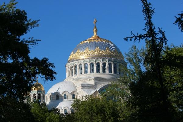 Фотосравнения. Кронштадт 2005 и 2015 года. Николаевский Морской собор.